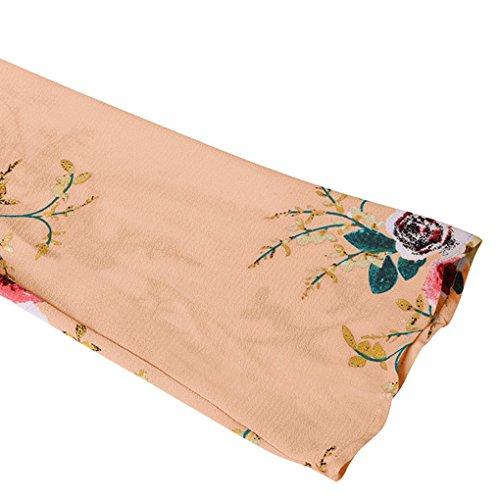 Cardigan Longues Masterein Manches couvrante Floral Chemisier imprim Femmes Fille Tops 3 Chale Casual XwZqCU
