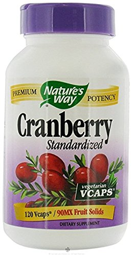 Std Cranberry VegCap 120 VegiCaps (Pack of 2)