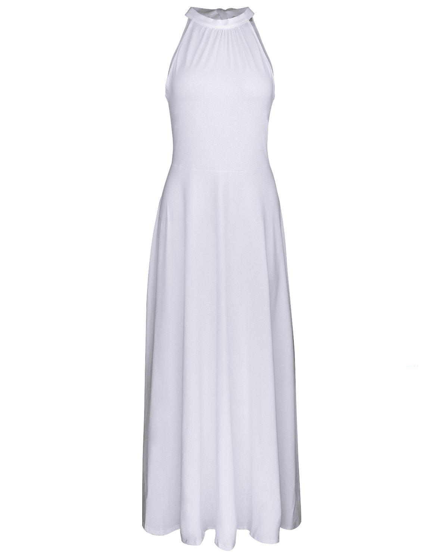 STYLEWORD Women's Off Shoulder Elegant Maxi Long Dress product image