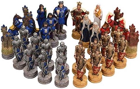 Bzsm Juegos de Mesa portátil Retro del Viaje de Madera Regalos internacionales de la Junta Juego de ajedrez jugadas del Juego ajedrez colección de los niños (tamaño : Character): Amazon.es: Hogar