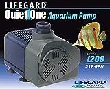 Quiet One Lifegard Aquarium Pump, 317-Gallon Per