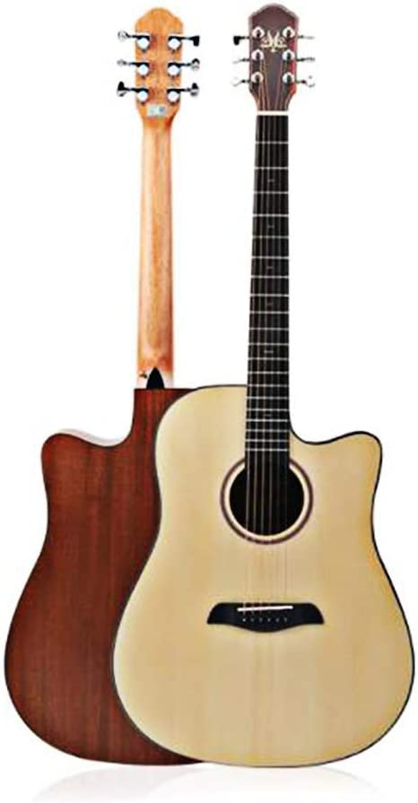 BAIYING-Guitarra Acústica 41 Pulgadas Hecho A Mano Principiante ...