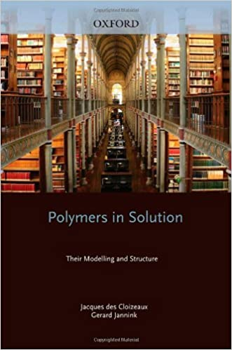 Book Polymers in Solution: Their Modelling and Structure (Oxford Classic Texts in the Physical Sciences) by Jacques des Cloizeaux (2010-08-19)