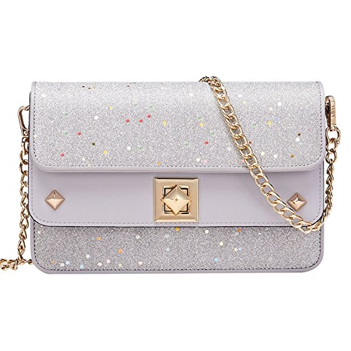 Double Silver Crossbody Handbags Square Small Bags Fox Purse Black Decoration Shoulder Fashion layer Women DesignSmall MYLL Bag CvUXB
