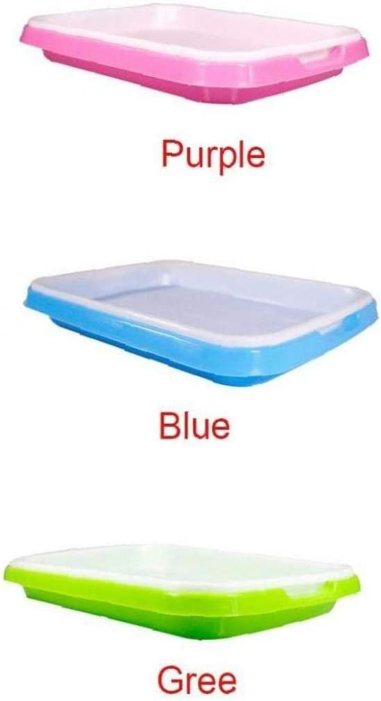 Lankater Germination Grass Soilless Home Drain Plate Non Toxic Grow Garden Planting Double Layer Hydroponics Basket Nursery Tray Wheat Random Color
