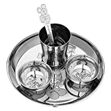 cWc Stainless Steel Dinner Set , Unbreakable Toddler Dining Set , Christmas Present