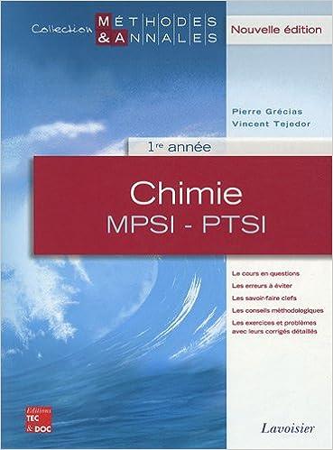Meilleures Ventes De Livres Electroniques Kindle Chimie Mpsi