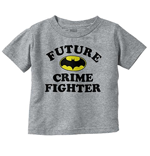 Future Crime Fighter Funny Batman Cute Baby DC Comic Nerd Toddler Infant - Crime Batman Fighter