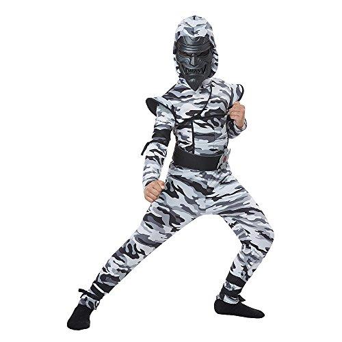 Total (Childrens Camouflage Ninja Costumes)