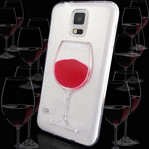Transparent Rubber Case for Samsung Galaxy S5 i9600 G900 (Clear) - 3