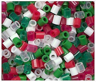 perler beads christmas mix bead bag 1000 count by perler - Perler Beads Christmas