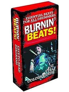 Burnin' Beats! - 52 Full Colour Beat Cards. Partitions pour Batterie