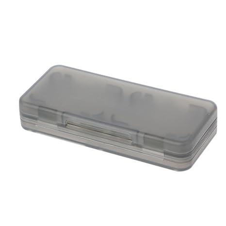 Junlinto Hard Plastic Juego Tarjeta de Memoria Tarjeta de ...