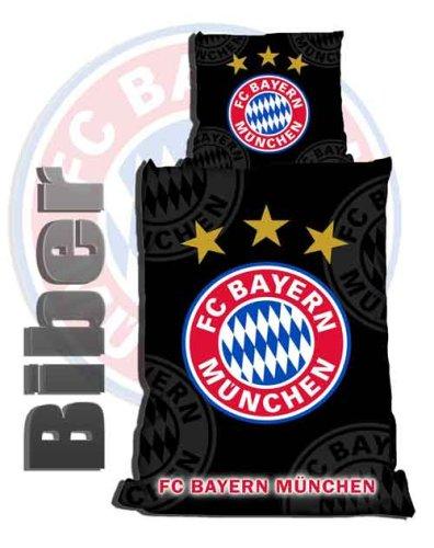 Bettwäsche Fc Bayern München Schwarz Biber Amazonde Küche Haushalt