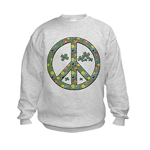 Peace Sign Kids Sweatshirt - 2