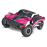 Traxxas Slash 1/10-Scale 2WD Short Course Racing Truck with TQ 2.4GHz Radio System, Pink