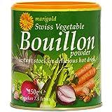 Marigold Swiss Vegetable Bouillon Powder 150 g (Pack of 6)
