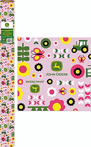 john-deere-16-yard-pink-gift-wrap-roll
