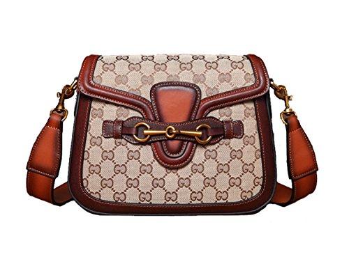 Gucci Replica (FairyBridal Women Real Leather Cross Body Handbags,Satchel Shoulder Bag 4 Colors)
