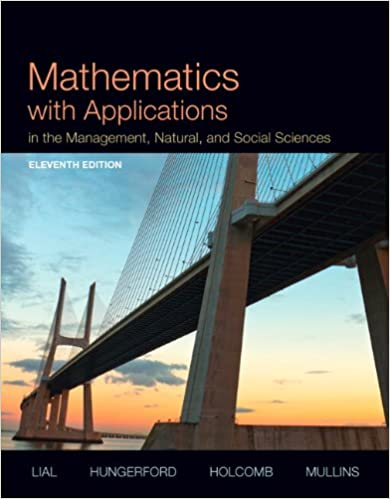 Amazon.com: Mathematics with Applications In the Management, Natural ...