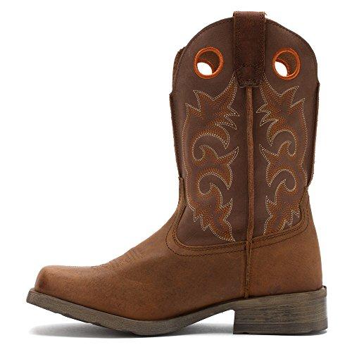 Laredo Mens Prowler Cowboyschoen Vierkante Teen - 7424 Tan