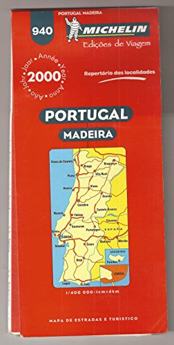 Portugal and Madeira (Michelin Maps)