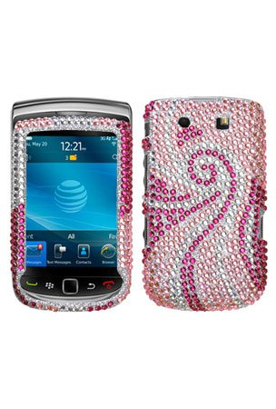 MyBat BlackBerry Torch 9800 Diamante Protector Cover - Phoenix -