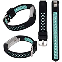 Lwsengme Silicone Strap Compatible with Fitbit Alta/Fitbit Alta HR Wrist Replacement Band Smart Watch Fitness Strap Accessory