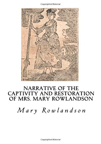 A report on two narratives mary rolandsons the indian captivity narratives and harriet jacobs the na