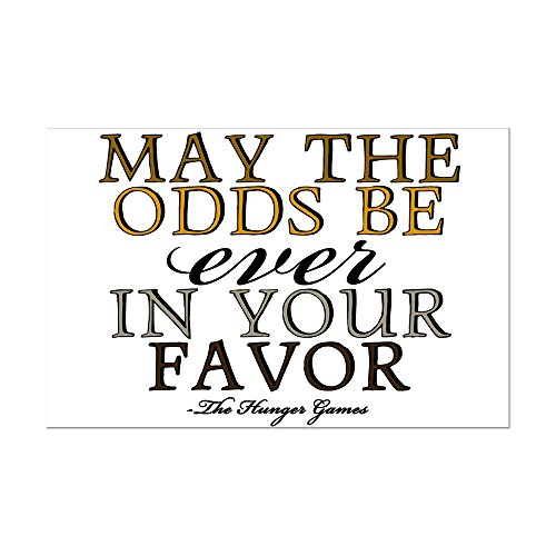 CafePress - Hunger Games Quote - Mini Poster Print