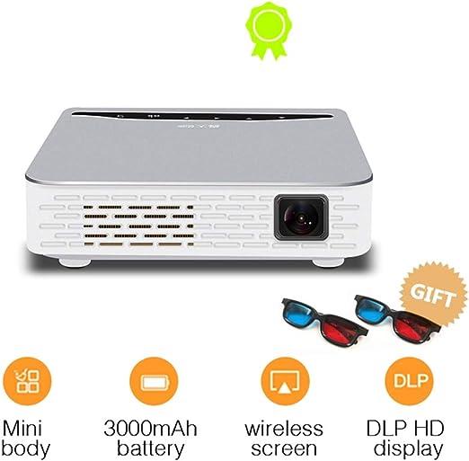 T ECH Proyector De Alcance Ultracorto, Mini Proyector 3D WiFi ...