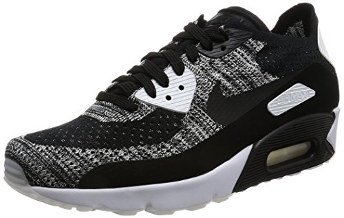 754635716a74c0 Galleon - Nike Mens Air Max 90 Ultra 2.0 Flyknit Black Black White Running  Shoe 10 Men US