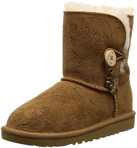 UGG Girls' Fauna Boot,Chestnut,US 1 (Ugg Boots Charms)