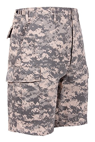 Acu Digital Camo Short (Ultra Force BDU Short ACU Digital Camo, X-large)