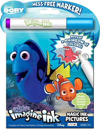 Disney Finding Dory Magic Ink(Pack of 12)