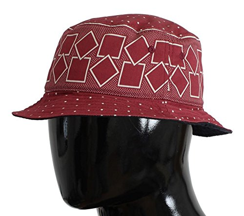 Dolce & Gabbana Red Cotton Silk Sun - And Gabbana Hat Dolce