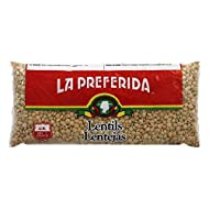 La Preferida Mexican Foods, Lentils, 16 oz (Pack - 1)