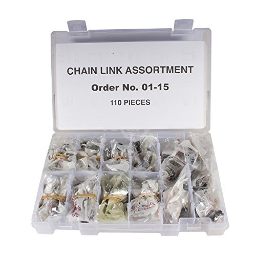 (Roller Chain Link Assortment Shelf Displ)
