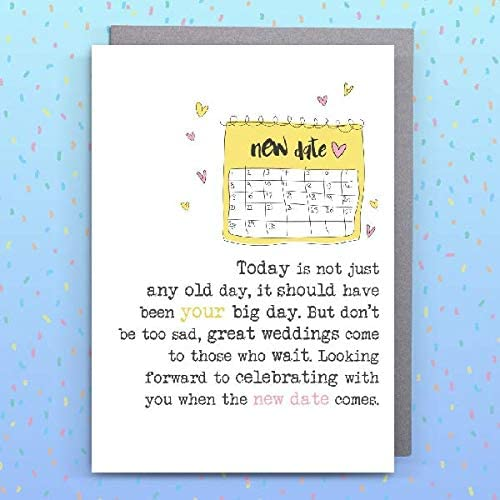 5ef35355df117f00015c70a8 Engagement /& Marriage Card from Dandelion Stationery