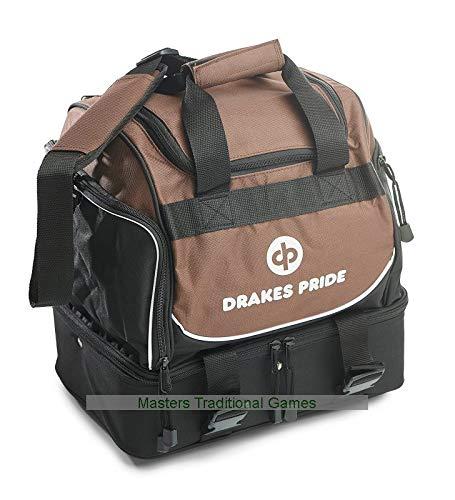 Drakes Pride Pro Midi Bowls Bag - Bronze and Black
