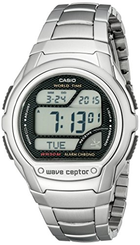 Casio Men's WV58DA-1AV Waveceptor Digital Atomic Sport Watch ()