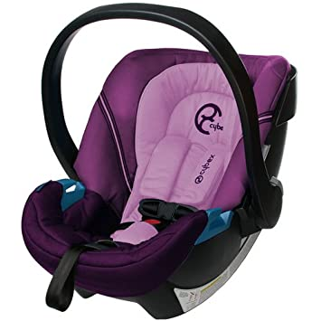 Cybex Aton Infant Car Seat 2013 – Violet Spring Discontinued by Manufacturer