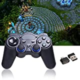 Universal 24G Wireless Game Gamepad Joystick for