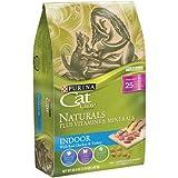 Purina Cat Chow Naturals Indoor Dry Cat Food (3.15 lb. Bag)