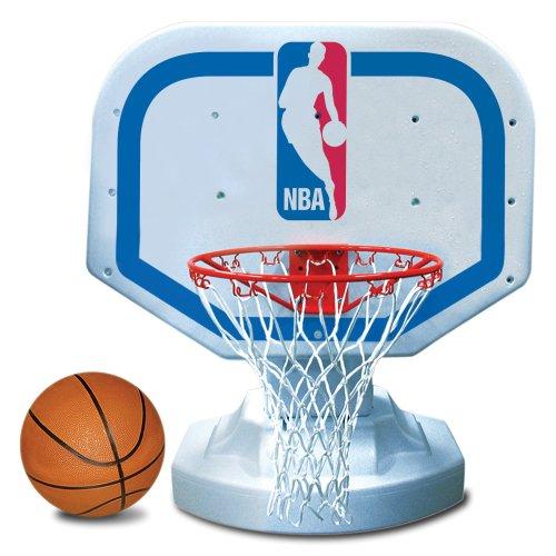 Logo Basketball - Poolmaster 72900 NBA Logo USA Competition-Style Poolside Basketball Game
