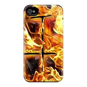 UVqeu25889OZTnr Snap On Case Cover Skin For Iphone 4/4s(fire Flame)