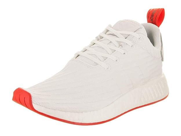 size 40 04209 ceae4 Amazon.com   adidas Originals Men s Sneaker NMD R2 Primeknit Bianche Rosse  ...   Shoes