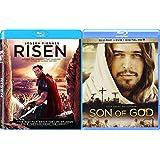 Son of God & Risen 2-Movie Set Blu ray + DVD + Digital UV