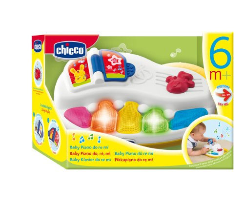 Amazon.com: Chicco Do RE Mi Baby Piano (suspendido por ...