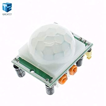 Fevas 10pcs/lot HC-SR501 Adjust IR Pyroelectric Infrared PIR Motion Sensor Detector Module